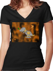Leave on the Wind 2.0 Women's Fitted V-Neck T-Shirt