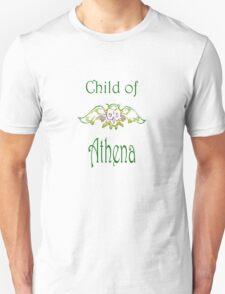Child of Goddess Athena Greek Demigod Wisdom Unisex T-Shirt
