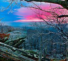 Blue Ridge Sunset by Miles Moody