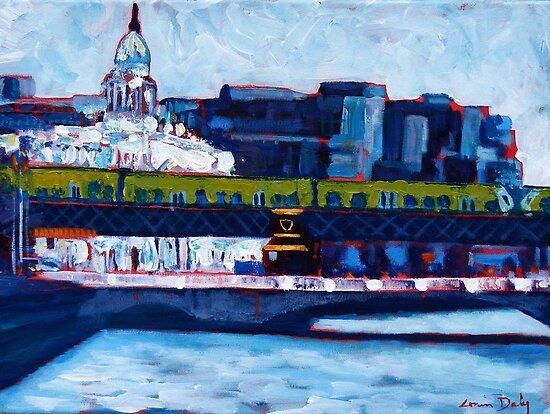 Loopline Bridge, Dublin by eolai