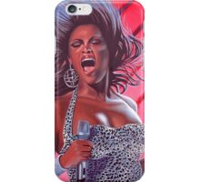 Beyonce painting iPhone Case/Skin
