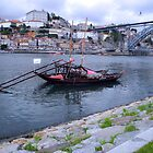 OPORTO:PORT BARGE by Sue Ballyn
