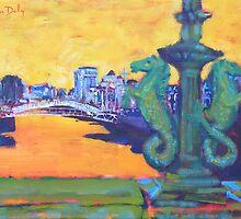From Grattan Bridge, Dublin by eolai