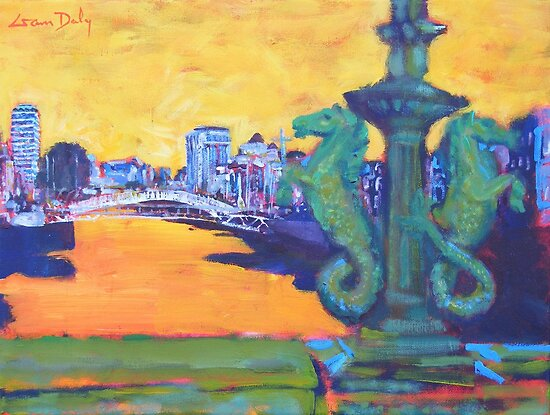 From Grattan Bridge, Dublin by eolai