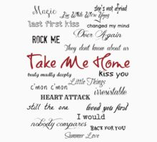 Take Me Home - Tracklist by echosingerxx