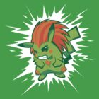 Blankachu by Brinkerhoff