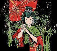 Traditional Geisha Design by RAFAROMAN