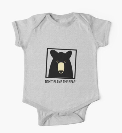 DON'T BLAME THE BLACK BEAR One Piece - Short Sleeve