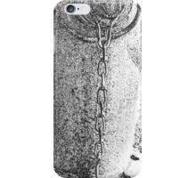 Fire Hydrant 3 Black and White iPhone Case/Skin