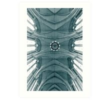 Looking up at the royal courts Art Print
