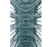 Looking up at the royal courts Photographic Print