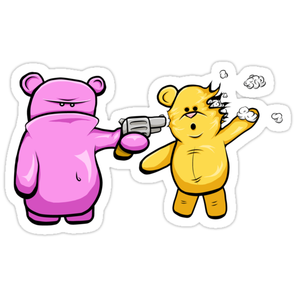 Drop Dead Ted by MrBwasFramed