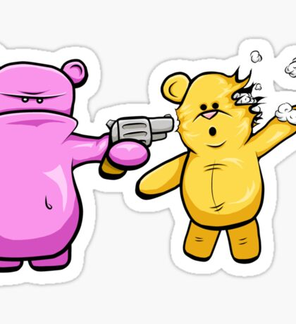Drop Dead Ted Sticker