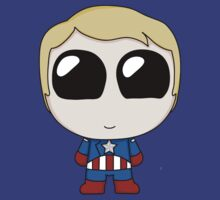Chibi Captain America by CircusDoll