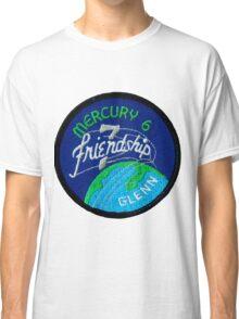 Mercury-Atlas 6 (Friendship 7) Mission Logo Classic T-Shirt