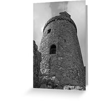 Orchardton Tower Greeting Card