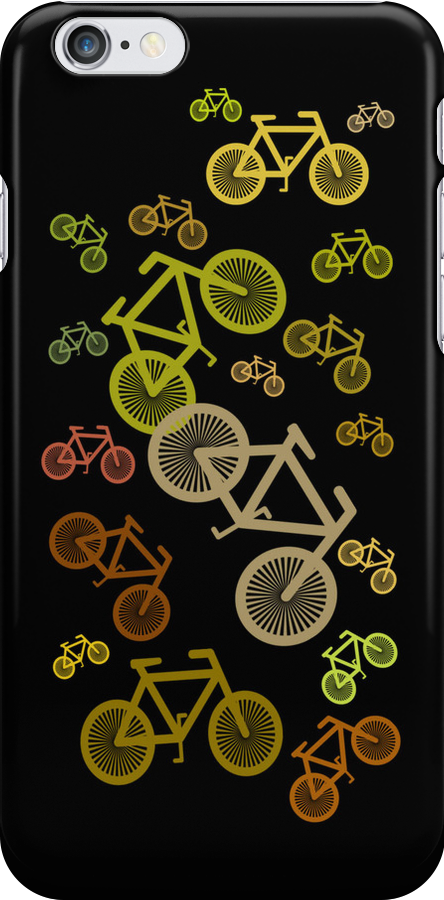 Bicycle Chain Case by simpsonvisuals