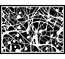 B & W Abstract 1 Photographic Print