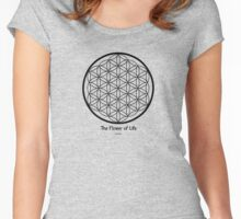Sacred Geometry for your daily life Women's Fitted Scoop T-Shirt