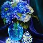 Glowing Hydrangeas by PierceClark