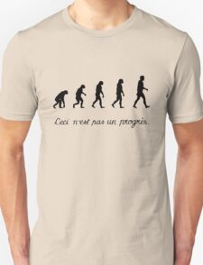 99 Steps of Progress - Surrealism T-Shirt