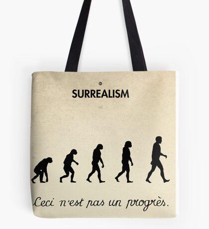 99 Steps of Progress - Surrealism Tote Bag