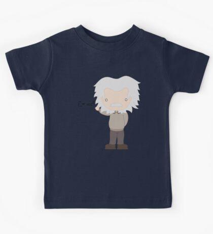Excuse Me While I Science: Albert Einstein - E=mc² Equation Kids Tee