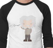Excuse Me While I Science: Albert Einstein - E=mc² Equation Men's Baseball ¾ T-Shirt