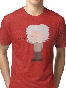Excuse Me While I Science: Albert Einstein - E=mc² Equation Tri-blend T-Shirt