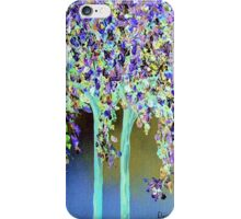 In a Blue and Purple World iPhone Case/Skin