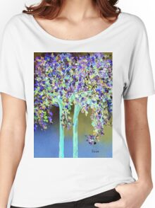 In a Blue and Purple World Women's Relaxed Fit T-Shirt