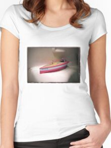 Toy Boat Women's Fitted Scoop T-Shirt