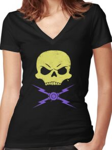 Stuntetor Women's Fitted V-Neck T-Shirt