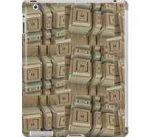 Modern Town, abstract 3-d iPad case iPad Case/Skin