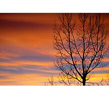Gavins Sunset Photographic Print