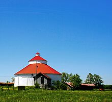 Round Barn Ohio Country by Randy Branham