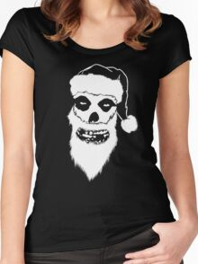 A Misfits Christmas Women's Fitted Scoop T-Shirt
