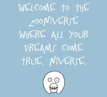 The Mighty Boosh – Welcome to the Zooniverse (White) Unisex T-Shirt