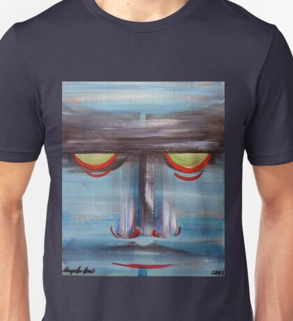 Stern Face Unisex T-Shirt