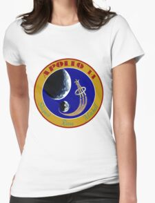 Apollo 14 Mission Logo Womens Fitted T-Shirt