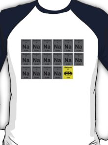 Periodic Table of Batman T-Shirt