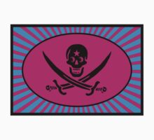 Funny Pirate Deluxe Kids Tee