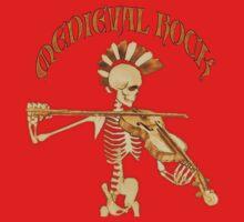 Knochengeiger / Skeleton Fiddler  – Medieval Rock One Piece - Long Sleeve
