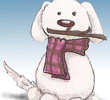 A snowman's best friend by s1lence