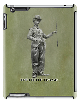 The Little Tramp iPAD CASE by Catherine Hamilton-Veal  ©