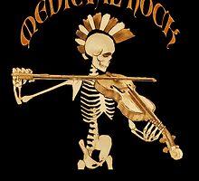 Knochengeiger / Skeleton Fiddler  – Medieval Rock by Bela-Manson