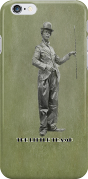 The Little Tramp iPhone Case by Catherine Hamilton-Veal  ©