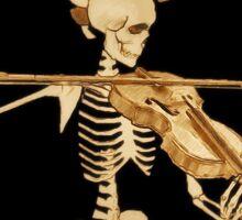 Knochengeiger / Skeleton Fiddler  – Medieval Rock STICKER Sticker