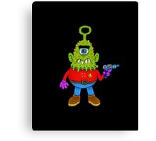 Cyclops Alien Beasty Canvas Print