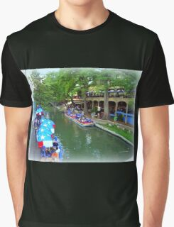 Patriotic Riverwalk Graphic T-Shirt